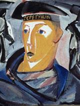 'Sailor', zelfportret door Vladimir Tatlin