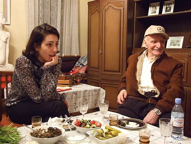 Armenië culinair: eten bij mensen thuis (foto: Blini Reizen)