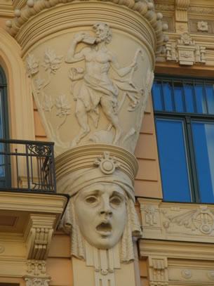 Letland: art-nouveau-wijk in Riga (foto: Blini Reizen)
