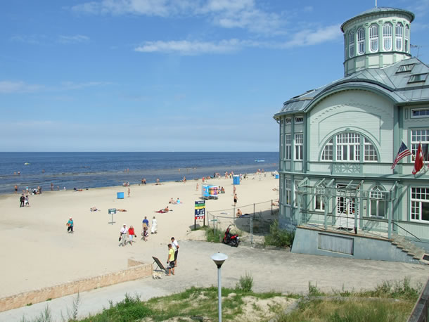 Letland: strand van Jurmala (foto: Blini Reizen)