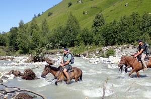 Trektochten in Georgië: Svaneti