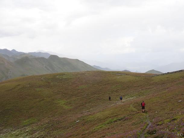 Trektocht in Svaneti, Georgië (foto: Tobias)