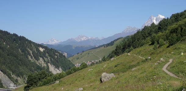 Trektochten in Svaneti (Georgië)