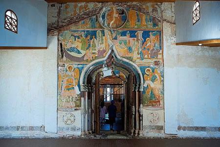 Gouden Ring: Ferapontov klooster (foto: Ko Hon Chiu Vincent, zie: https://whc.unesco.org/en/list/982/gallery/