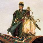Samolet (of Het vliegende tapijt) van Viktor Vasnetsov