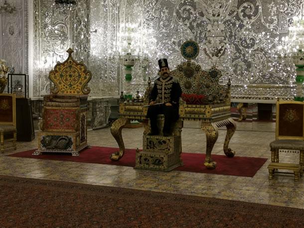 Teheran Golestan Paleis (foto: Ank & René)