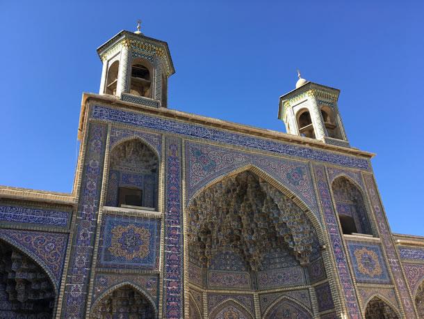 Shiraz roze moskee Nasir al Mulk (foto: Ank & René)