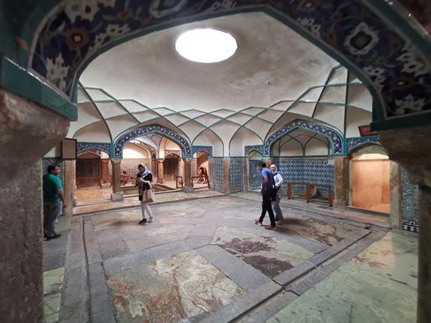 Kerman hamman Ganj Ali Khan (foto: Ank & René)