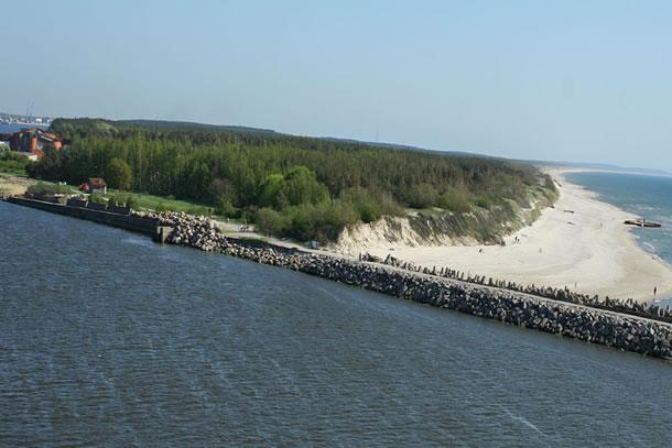 met de boot naar de Baltics
