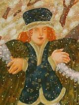 Detail van een illustratie door Vera Pavlova