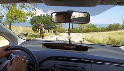 Georgië: op pad met auto met chauffeur