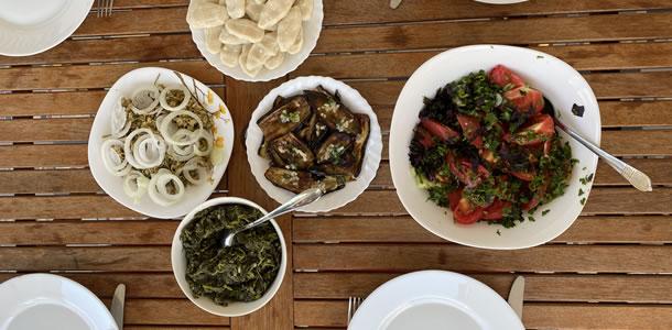 Pankisi-vallei: de traditionele gerechten uit de vallei hebben zelfs prijzen gewonnen! (foto: Tamuna)