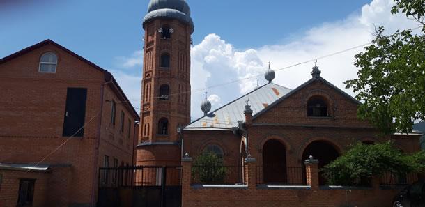 Pankisi-vallei: moskee in Duisi (foto: Tamuna)