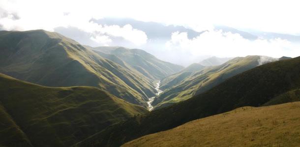 De prachtige natuur van de Pankisi-vallei (foto: Nazy's Guest House)