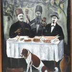 Party in a vine Pergola