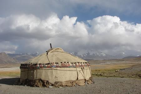Tadzjikistan: overnachten in een yurt