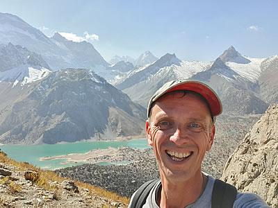 Tadzjikistan: Wouter maakt een trekking in de Fann-bergen
