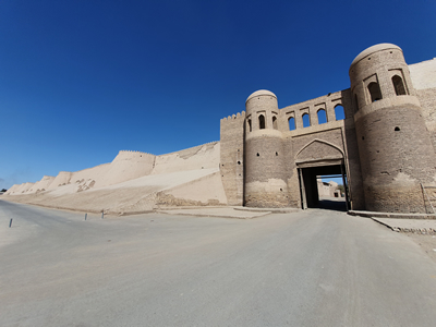 Tip Oezbekistan: beklim de stadsmuren van Khiva