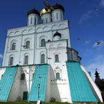 De Trinity Kathedraal in Pskov