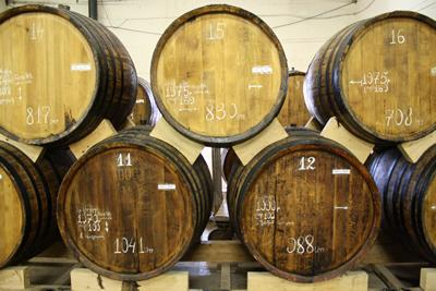Vaten Armeense cognac, die eigenlijk geen cognac mag heten