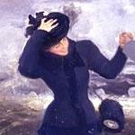 Detail van schilderij Wat een vrijheid! van Ilja Repin