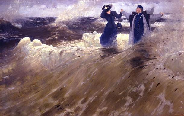 Wat een vrijheid! van Ilja Repin