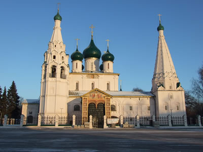Yaroslavl: kerk van Elias de profeet